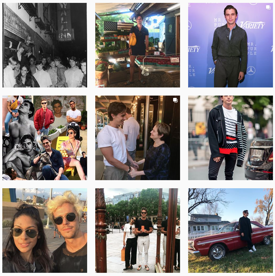 Top Canadian Influencer Antoni Porowski's Instagram Page